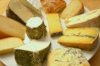 Platter of Homemade Cheese