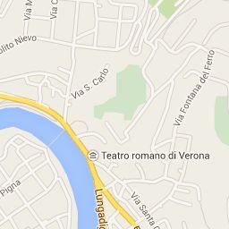 visita guidata in giro per verona realizzata con google maps