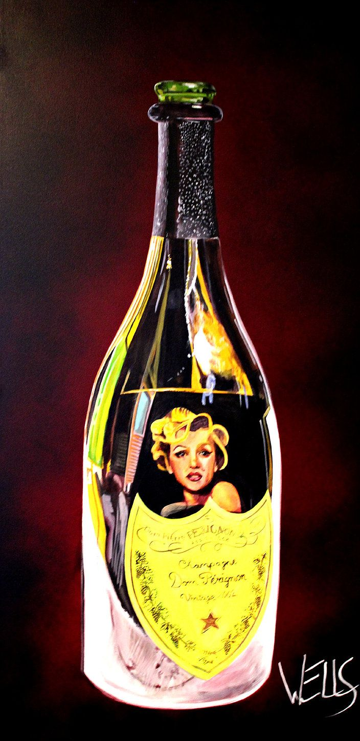 Wine Bottle art | Stacey Wells art