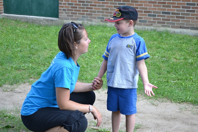 Staff is always around to help and listen at YMCA Day Camp