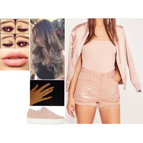 Sans titre #1270 by soso-lili on Polyvore featuring moda, Missguided, Axel Arigato and LASplash