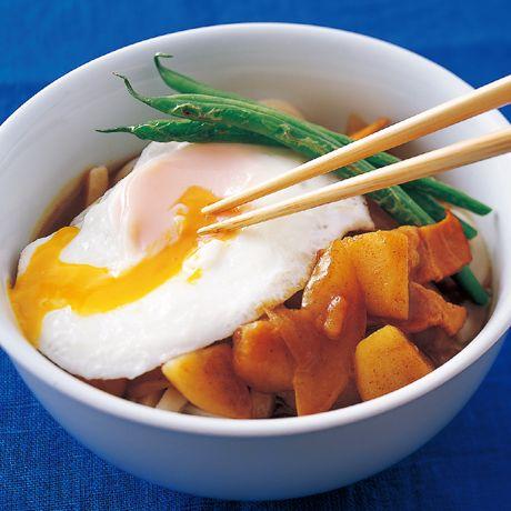 ベーじゃがカレーうどん | 井澤由美子さんのうどんの料理レシピ | プロの簡単料理レシピはレタスクラブニュース