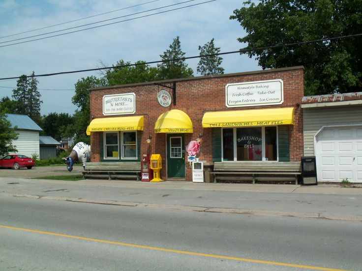 Butter Tarts N' More is a great place to get those home baked goodies.
