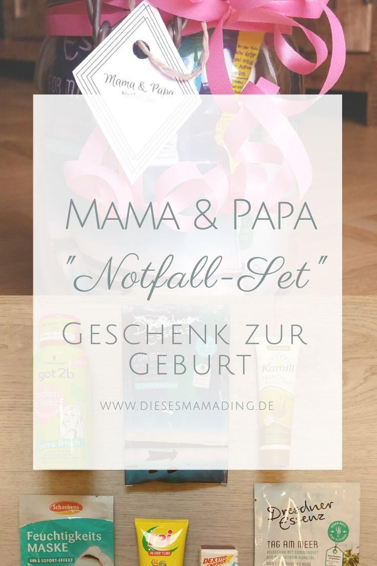 Geschenk zur Geburt für Mama und Papa