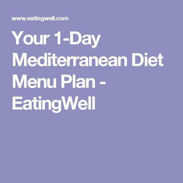 Your 1-Day Mediterranean Diet Menu Plan - EatingWell