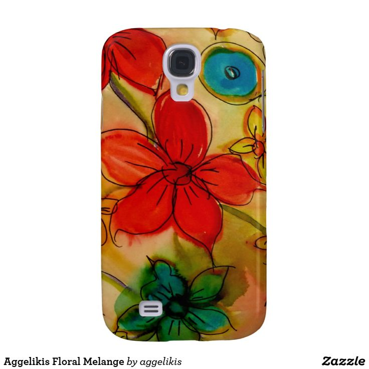 Aggelikis Floral Melange Samsung Galaxy S4 Covers