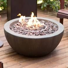 Red Ember Mesa 28 in. Gas Fire Pit Bowl with FREE Cover - BC623-3 $178