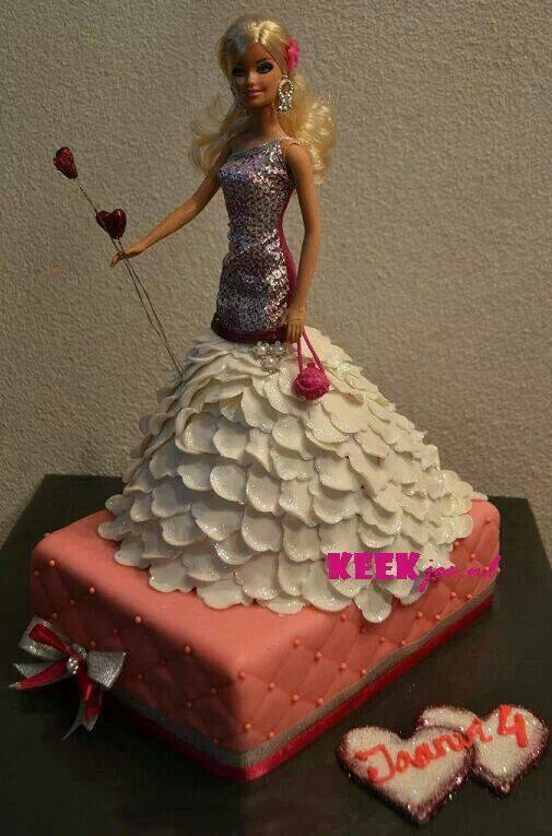 Birthday Cake For Baby Doll ~ Baby doll barbie cake food drinks sweets pinterest kids and tutorial