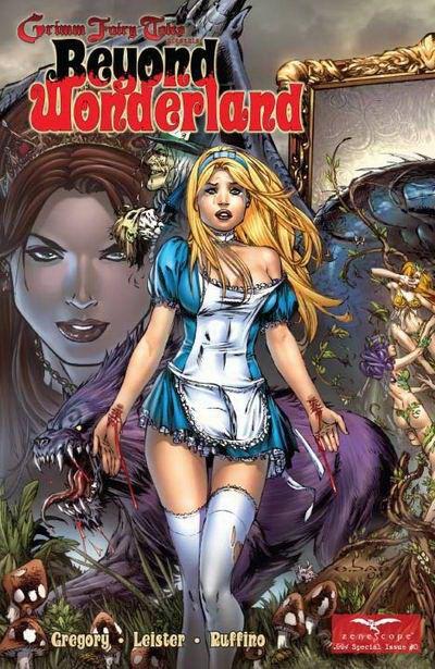 beyond wonderland cover art zenescope comics cover art