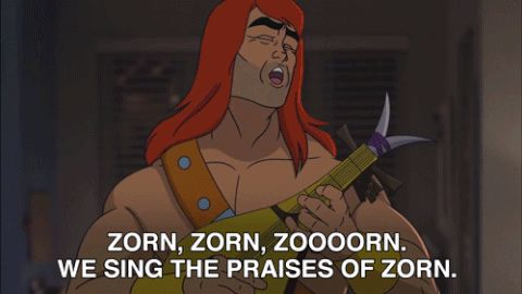 son of zorn zorn sonofzorn we sing the praises of zorn trending #GIF on #Giphy via #IFTTT http://gph.is/2cPAYOz