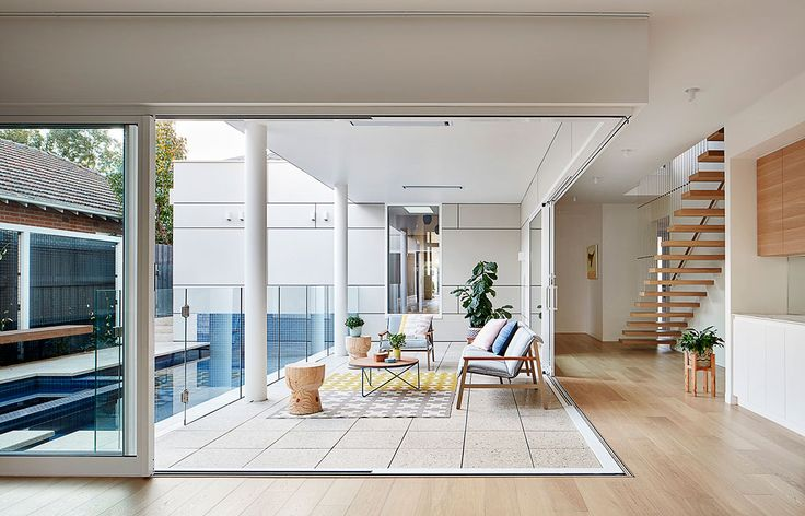 Oak House Bryant Alsop Architects alfresco