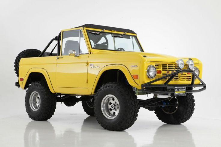 1969 Ford Bronco 4x4 302ci