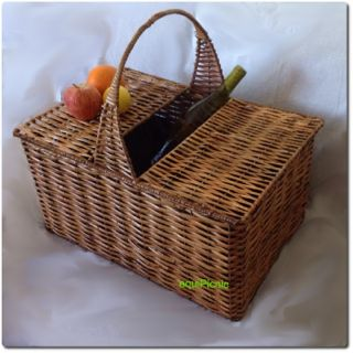 Steel enforced, cane picnic basket. Lovingly woven by the disadvantaged folks in the Cape. From ZAR 478.  www.equipicnic.co.za