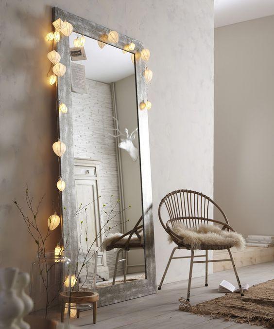 habitaciones con espejos