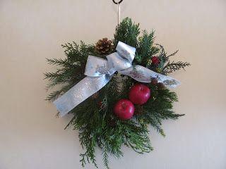 My family steps: クリスマスリース