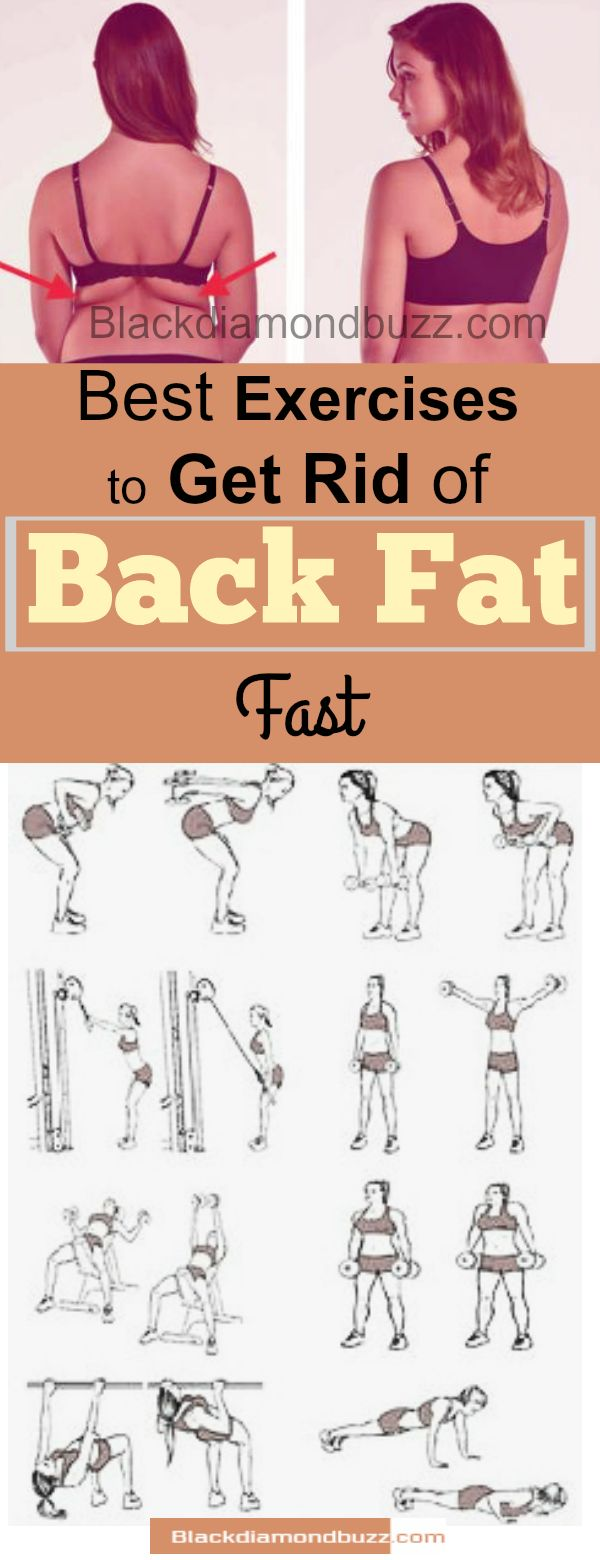how to lose side back fat