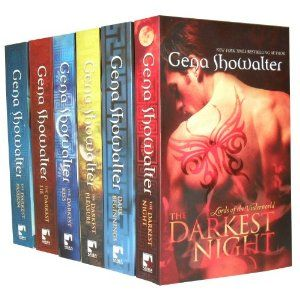 Lord of the Underworld series by Gena Showalter. GREAT adult Paranormal Romance books based on the legend of Pandora's box.