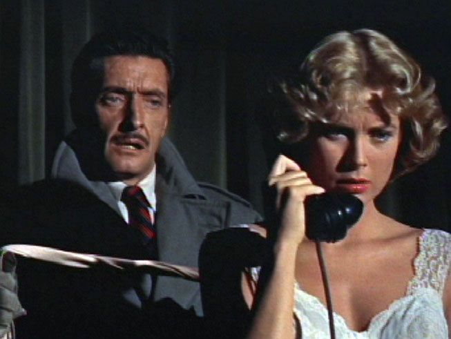 Grace Kelly and Anthony Dawson - Dial M for Murder 1954
