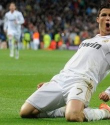 Youth Player getting massages from The Footballer Cristiano Ronaldo