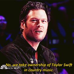 When he told Adam about Taylor Swift's place in music. | 18 Times Blake Shelton Made Us Laugh Out Loud