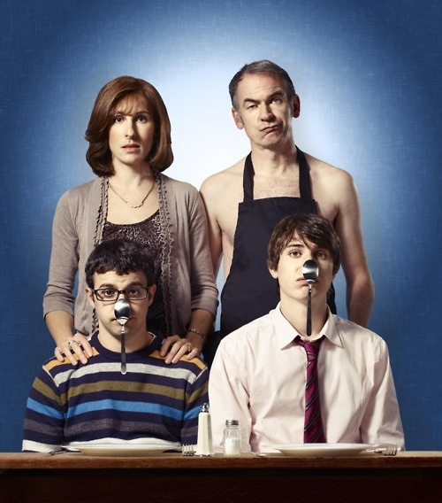 Friday Night Dinner! Anyone who really knows me will know I rarely find anything really funny, but this show is hilarious :)