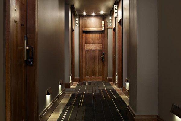 Conventional, Luxury & Elegant Hotel Design: QT Sidney Hotel : Elegant Hallway Design #hotelinteriordesigns