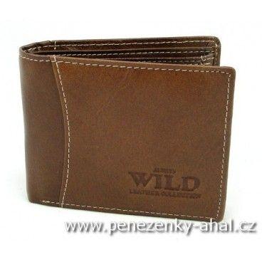 Malá kožená pánská peněženka - co je malé, to je hezké. Tato peněženka je navíc praktická.