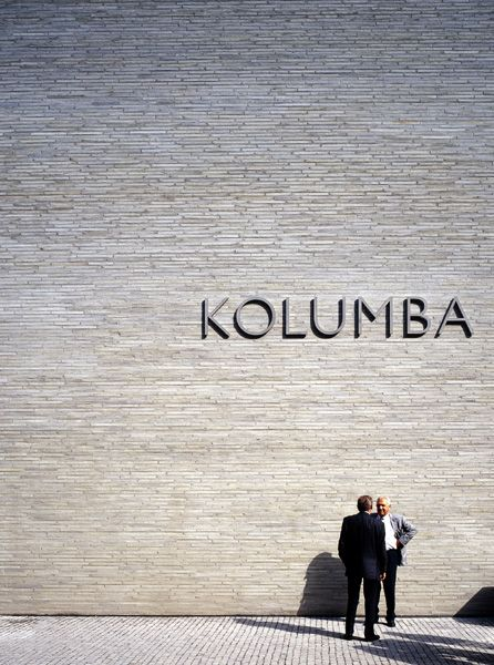 Peter Zumthor's Kolumba museum in Cologne. Beautiful brick wall with specially designed, extra long bricks by Petersen Tegln.