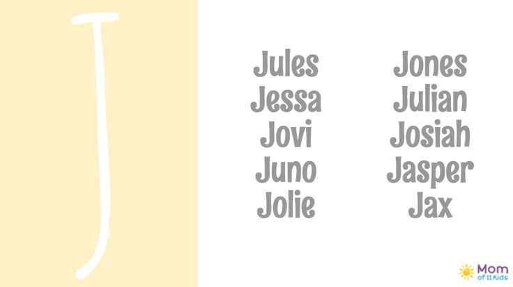 200+ Baby Names for 2016, A-Z! J Baby Names