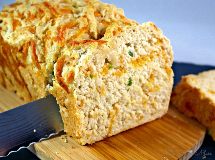 Chi Chi's Chili Cheese Beer Bread - mix and bake