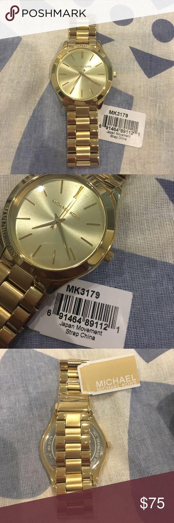 Brand New Michael Kors Watch Gorgeous brand new Michael Kors Gold Watch!! MICHAEL Michael Kors Other