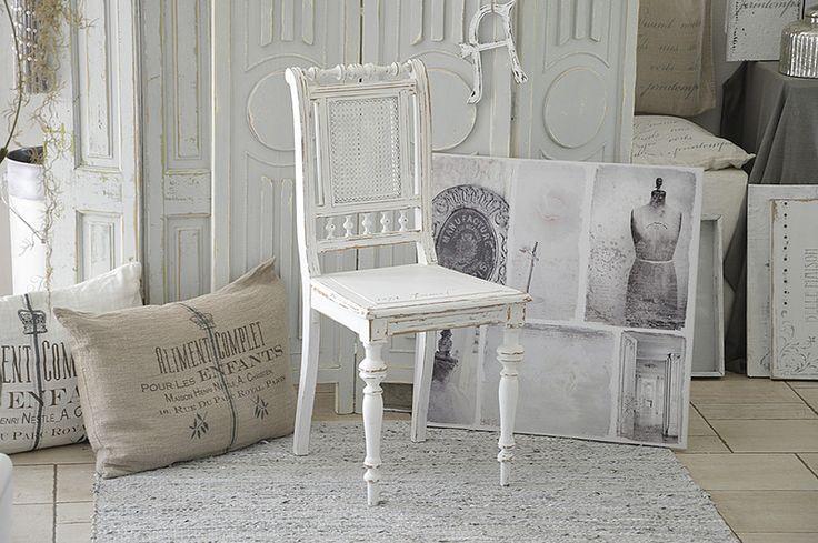 """Stühle - Toller Jugendstilstuhl """"Im Shabbykleid"""" - ein Designerstück von Elflora bei DaWanda"""