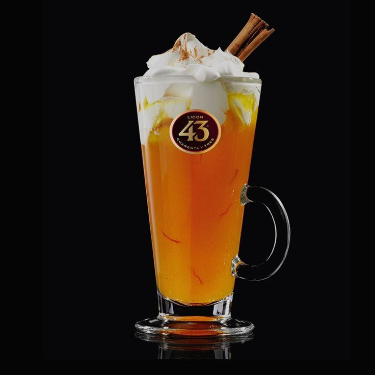 Try our recipe for the Hot Apple Pie 43, a warming dessert cocktail flavoured with apple and cinnamon and finished with whipped cream.