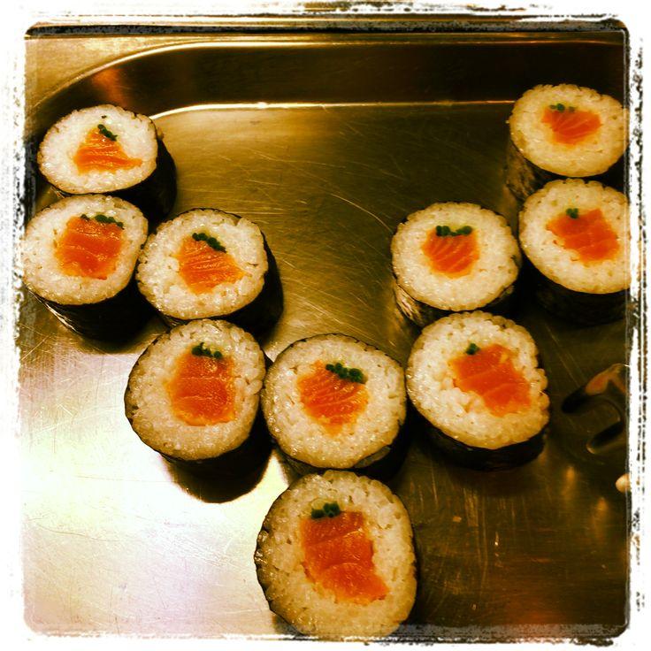 Sushi @ Trofea Grill Restaurant Kiraly Street
