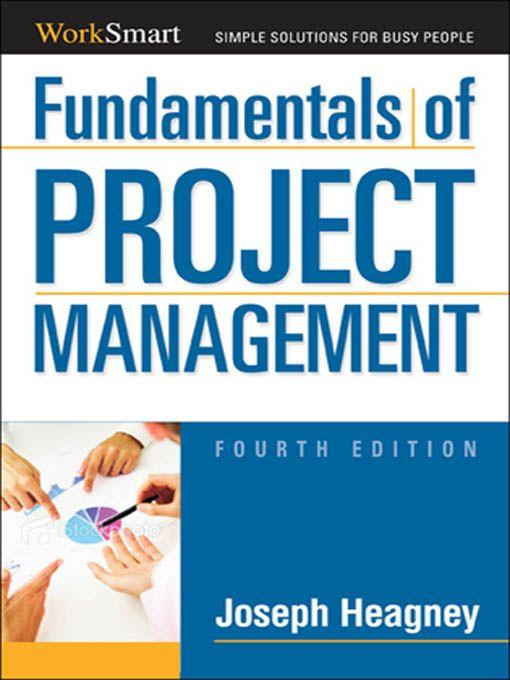 50 best project management images on pinterest project management amacom estore fundamentals of project management joseph heagney fandeluxe Image collections