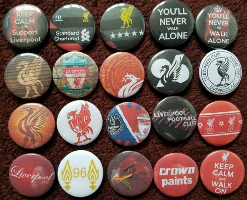 Liverpool fc button #badges x 20 (set 2). #pins. collector. #bargain :0),  View more on the LINK: 	http://www.zeppy.io/product/gb/2/272371250905/