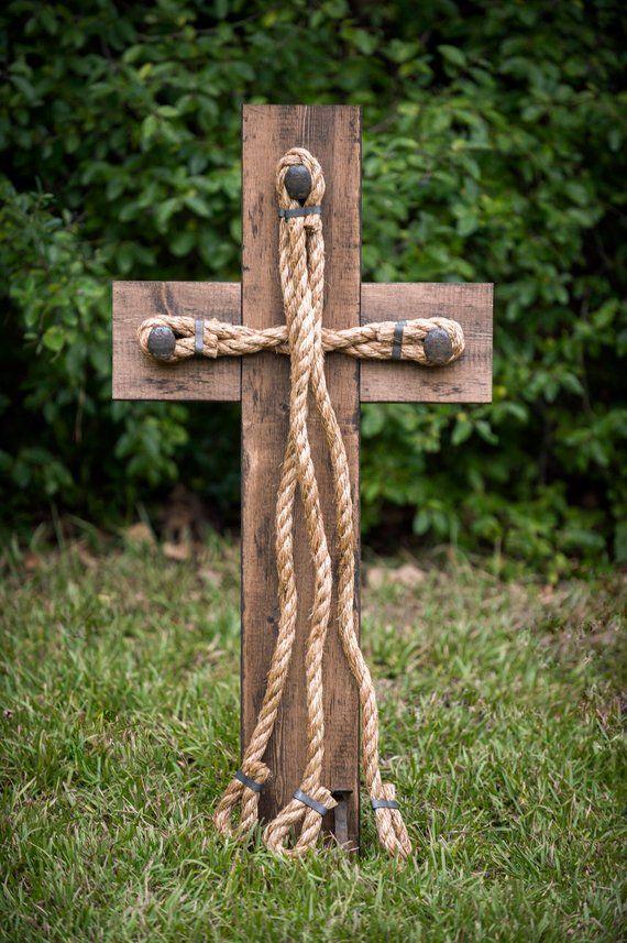 Hochzeit Braid Cross – Cord von drei Strängen, Gottes Knoten, Braid for Unity Ceremony, Holz Hochzeit Zeichen
