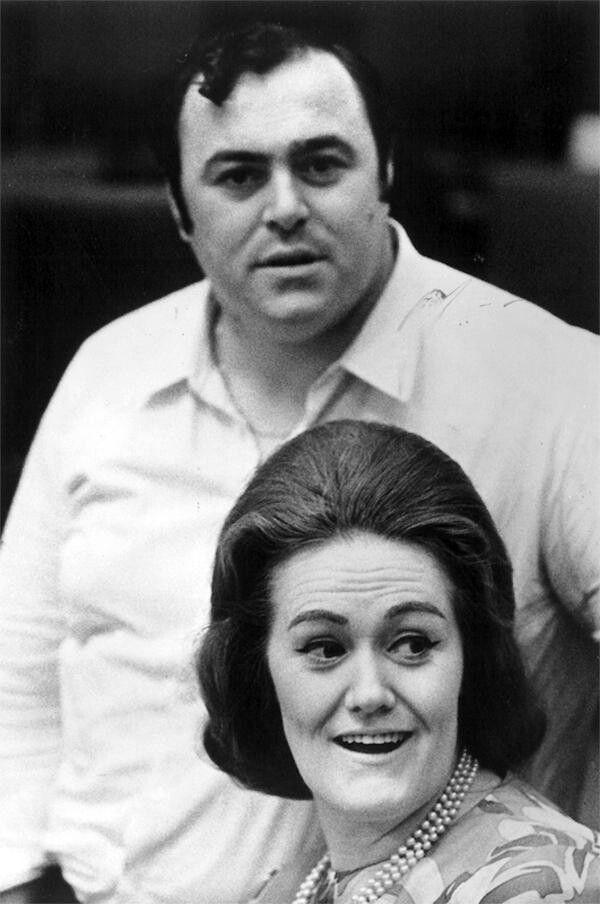 Joan Sutherland & Luciano Pavarotti