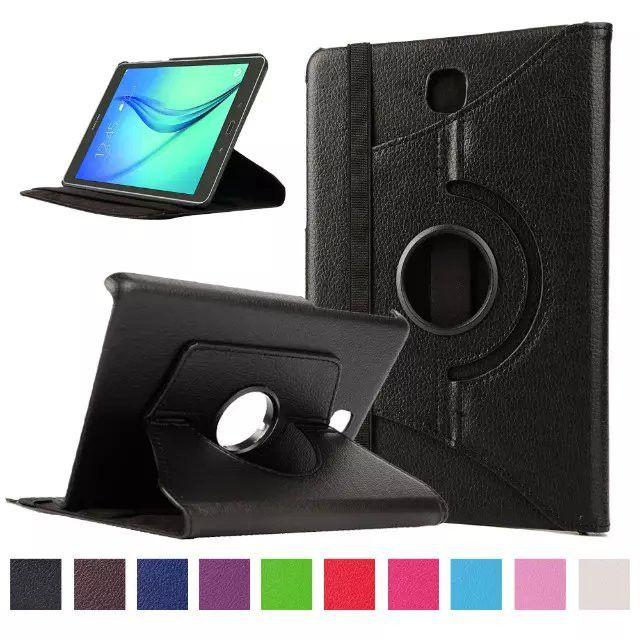For Samsung Galaxy Tab A 8.0 SM-T355 T350 Case Cover 360 Rotating Stand Leather Case Cover for Samsung Tab A 8.0 T350 Funda Capa