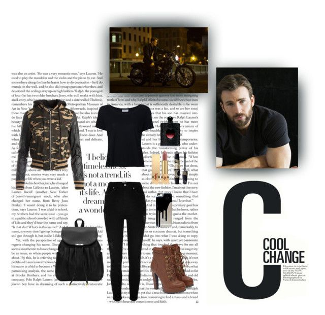 """""""Cool Change"""" by xo-nataliiee-xo on Polyvore featuring Cool Change, River Island, JustFab, Frame Denim, Yves Saint Laurent, Max Factor and Sans Souci"""