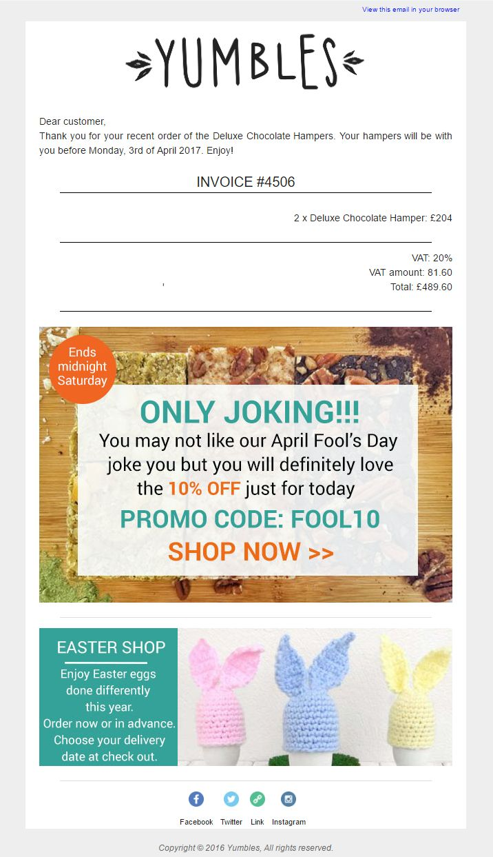 Jessops Discount Code >> 64 best April Fools Emails and Web Content images on Pinterest | April fools, April fools day ...