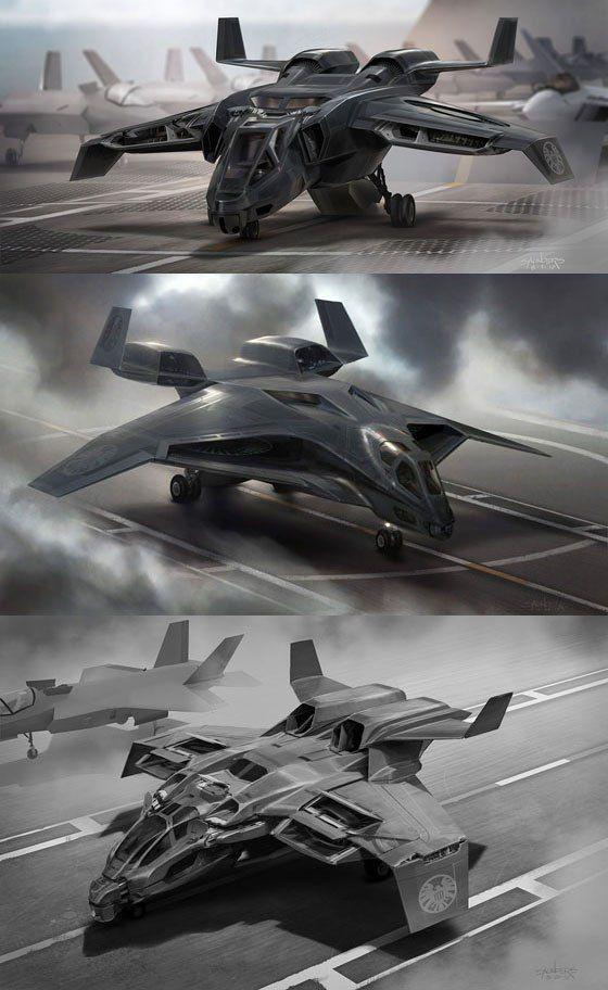 Concept Art: The Avengers  Phil Saunders