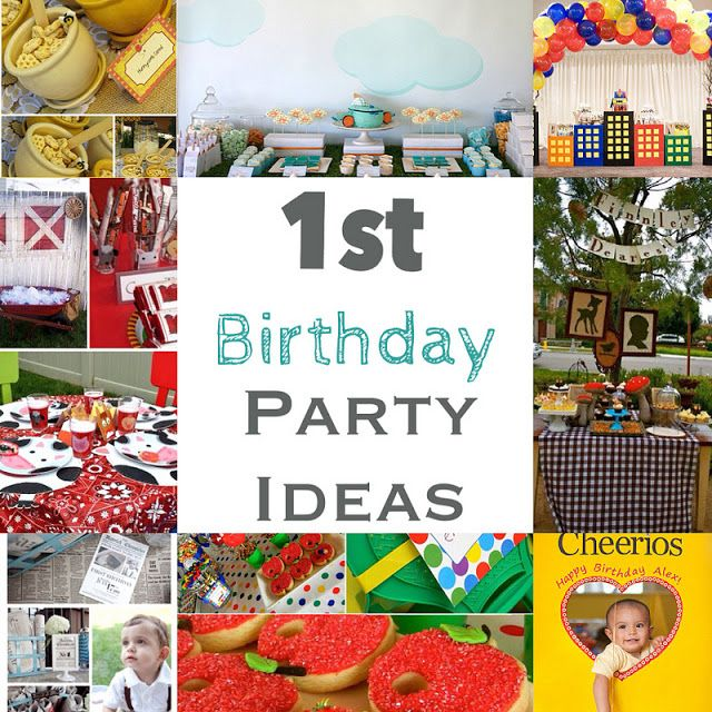17 Best Images About Baby Boy's First Birthday Party Ideas