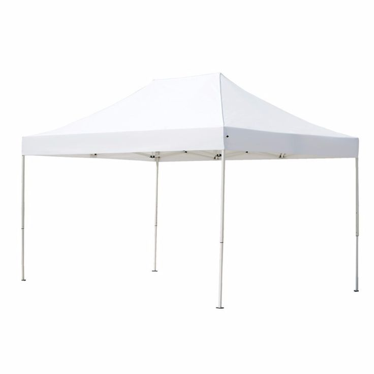 Abba Patio 10 x 15 ft Outdoor Heavy Duty Pop Up Portable Instant Canopy Event Commercial Folding Canopy White