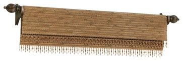 Woven Wood Valances - eclectic - curtains - other metro - The Interiors Workroom, Inc