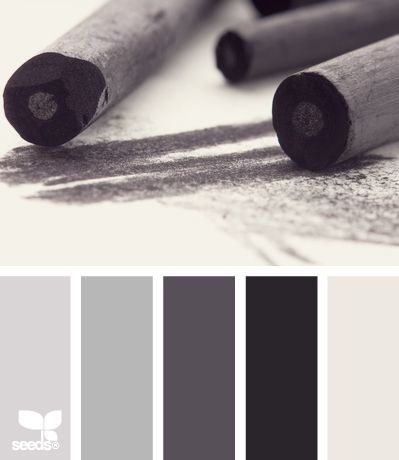 Charcoal Tones - http://design-seeds.com/index.php/home/entry/charcoal-tones