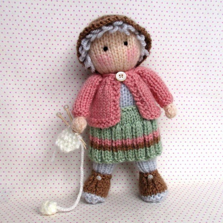 Granny Pearl loves knitting