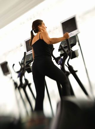 I consider this to be a beginning workout for the elliptical; it's mellow while working your entire body. If you're beyond a beginner level, this workout is a great complement to a strength training session — I use it as my warmup.