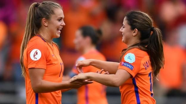 New Arsenal signing Vivianne Miedema was the top scorer in last season's Champions League for Bayern Munich New Arsenal signing Vivianne Miedema was on the scoresheet as hosts Netherlands set up a potential Euro 2017 semi-final with England by comfortably beating Sweden. The Dutch were...