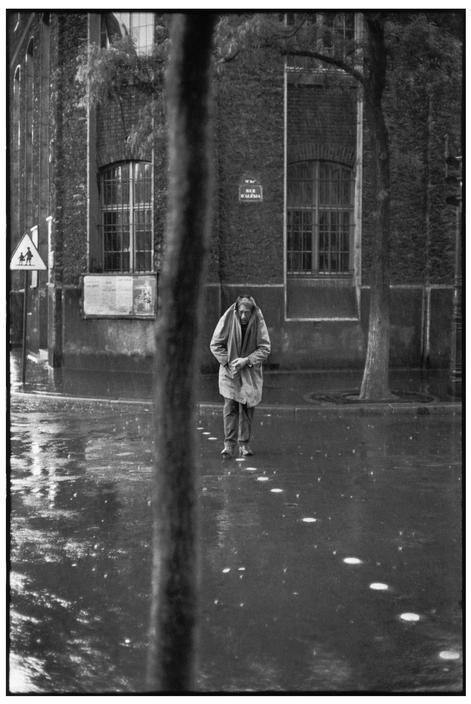 Henri Cartier-BressonView profileFRANCE. Paris. 14th arrondissement. Rue d'Alésia. Swiss painter and sculptor, Alberto GIACOMETTI. 1961.